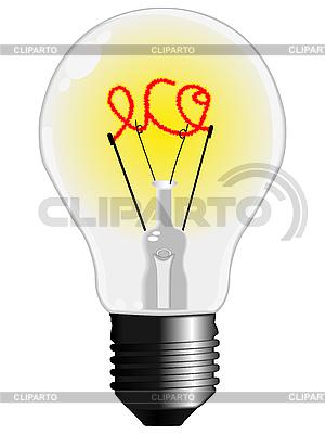 Öko-Glühbirne | Stock Vektorgrafik |ID 3053806