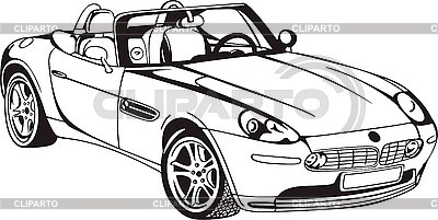 Cabriolet Auto | Stock Vektorgrafik |ID 3000754