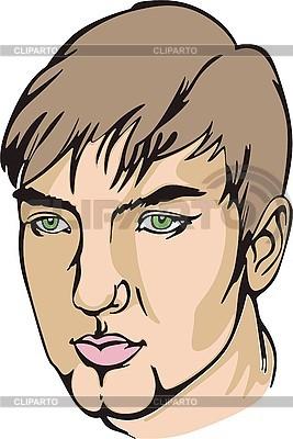 Face Guy | Klipart wektorowy |ID 3000830