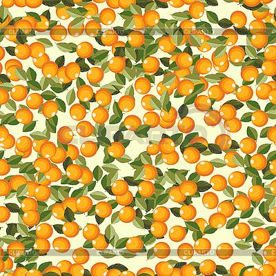 오렌지 과일과 원활한 배경 | 벡터 클립 아트 |ID 3001800