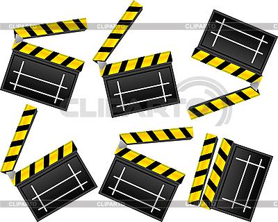 Clapboards | Klipart wektorowy |ID 3001812