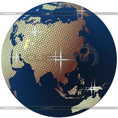 Erde-Globus | Stock Vektorgrafik |ID 3002050