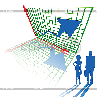 Dreidimensionale Diagramm | Stock Vektorgrafik |ID 3002194