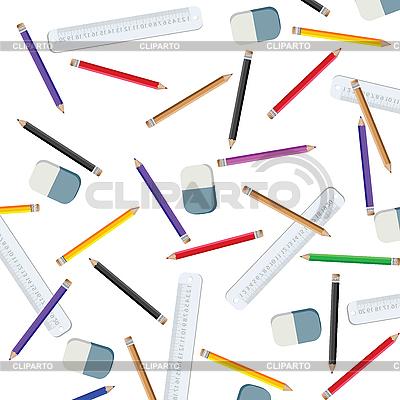 Ołówki i linii pomiarowych | Klipart wektorowy |ID 3002222