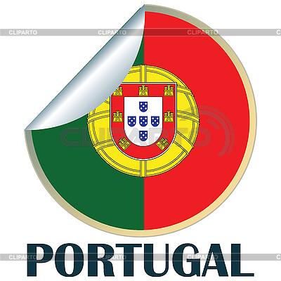 Portugalien Aufkleber | Stock Vektorgrafik |ID 3002295