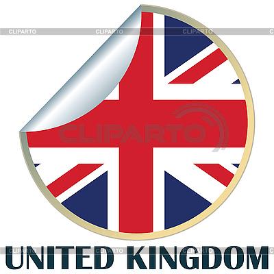 Großbritannien Aufkleber | Illustration mit hoher Auflösung |ID 3002306