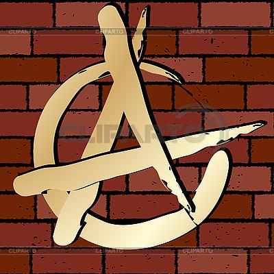 Anarchie zeichen illustration mit hoher auflösung id 3002399