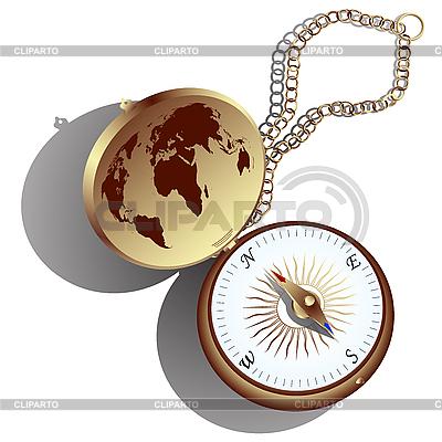 Goldene Kompass | Stock Vektorgrafik |ID 3006122