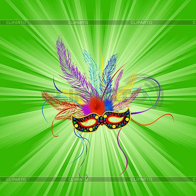Mardi gras background | Klipart wektorowy |ID 3011146