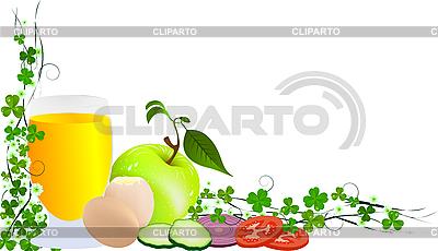Corner Food | Klipart wektorowy |ID 3016475