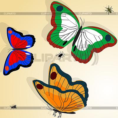 Motyle | Klipart wektorowy |ID 3018290