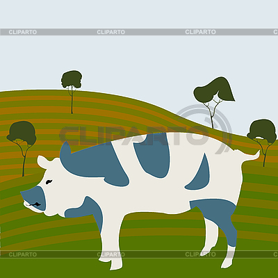 Schwein | Stock Vektorgrafik |ID 3018494