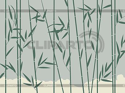 Бамбук фон | Векторный клипарт | ID 3025157