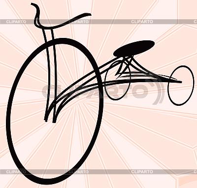 Altes Fahrrad | Illustration mit hoher Auflösung |ID 3025473