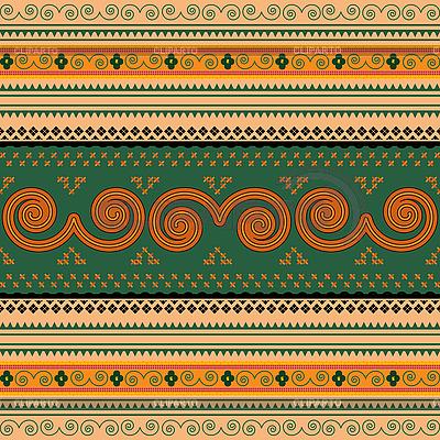 Tajlandia tradycyjny wzór | Klipart wektorowy |ID 3025516
