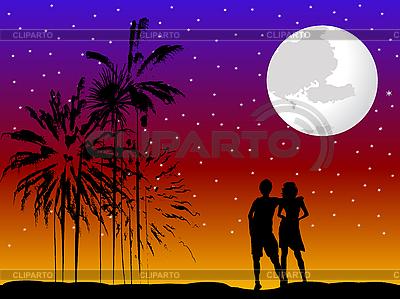 Romantisches Paar | Stock Vektorgrafik |ID 3032146