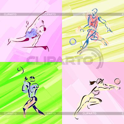 эскизы спорта: