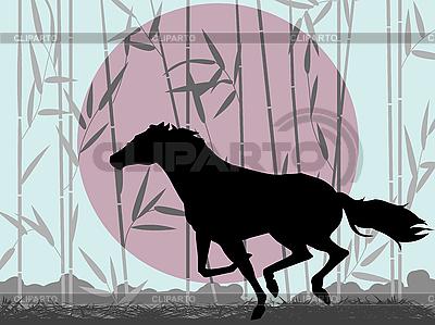 Stilisiertes Pferd | Illustration mit hoher Auflösung |ID 3032300
