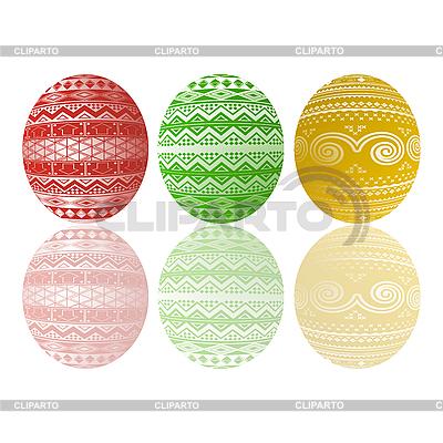 Drei Ostereier | Stock Vektorgrafik |ID 3039049