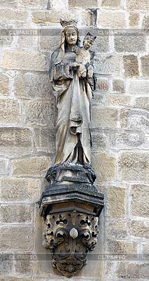 Statue Jungfrau und Kind | Foto mit hoher Auflösung |ID 3082505