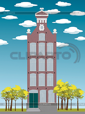 Altes Haus | Stock Vektorgrafik |ID 3117686