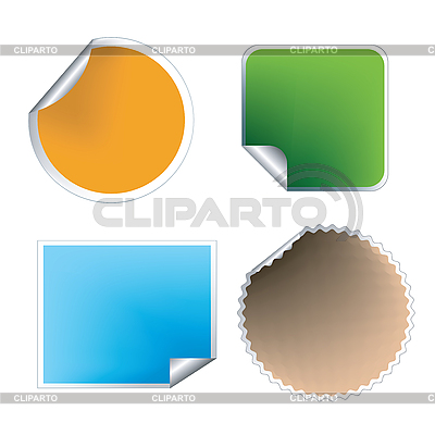 Fresh labels set | Klipart wektorowy |ID 3152383