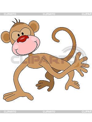 Cartoon monkey | Stockowa ilustracja wysokiej rozdzielczości |ID 3010570