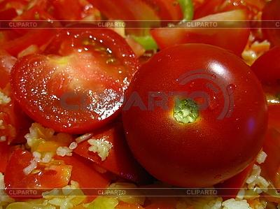 Świeże pomidory | Foto stockowe wysokiej rozdzielczości |ID 3011954