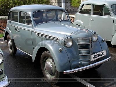 Blaues altes Auto | Foto mit hoher Auflösung |ID 3012077