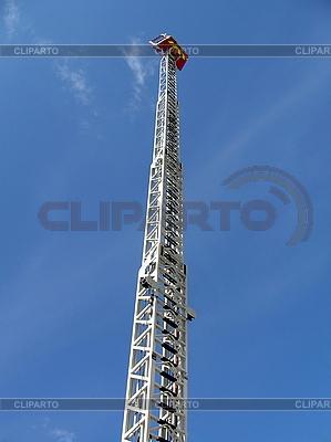 Drabina pożarnicza | Foto stockowe wysokiej rozdzielczości |ID 3012112