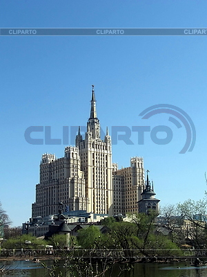 Budynek w Moskwie | Foto stockowe wysokiej rozdzielczości |ID 3012145