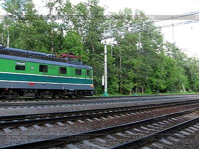 Przeprowadzka lokomotywę | Foto stockowe wysokiej rozdzielczości |ID 3012184
