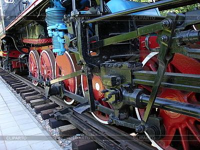 Stare lokomotywy | Foto stockowe wysokiej rozdzielczości |ID 3012191
