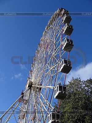 Riesenrad in Moskau | Foto mit hoher Auflösung |ID 3012265