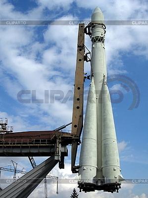 Weiße Rakete | Foto mit hoher Auflösung |ID 3012303