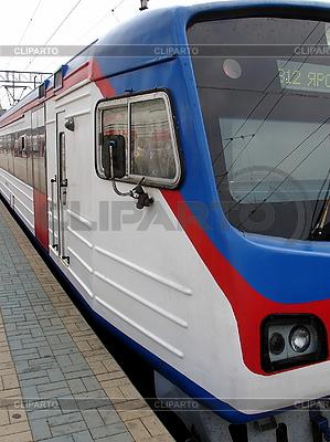Rosyjski pociąg | Foto stockowe wysokiej rozdzielczości |ID 3123724