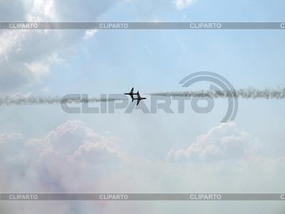 Hawk T1 in sky | Foto stockowe wysokiej rozdzielczości |ID 3369671