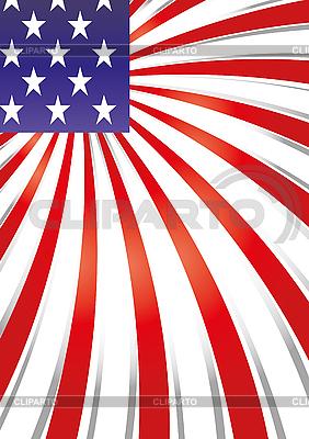 Amerikanisches Flagge-Design | Stock Vektorgrafik |ID 3010813