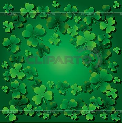 St Patrick `s background | Klipart wektorowy |ID 3010855