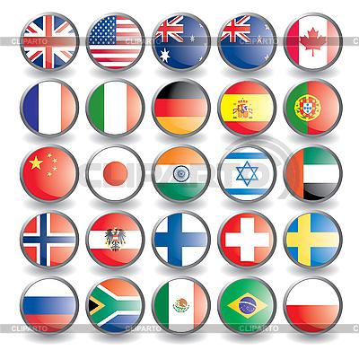 клипарт флаги: