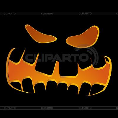 Тыква-лицо | Векторный клипарт |ID 3011699