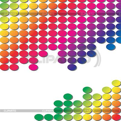 Hintergrund mit Rgenbogen-Farben | Stock Vektorgrafik |ID 3016369