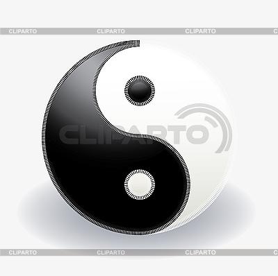 阴阳符号 | 向量插图 |ID 3016453
