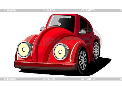 빨간 자동차 만화 | 벡터 클립 아트 |ID 3011087