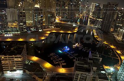 Dubai am Nacht  | Foto mit hoher Auflösung |ID 3014711