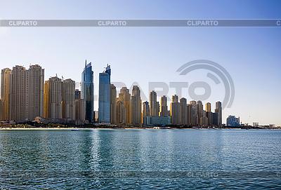 迪拜的天际线。全景。 | 高分辨率照片 |ID 3015861