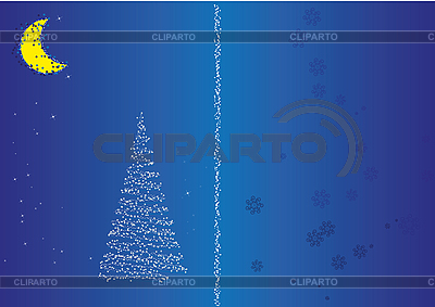 Weihnachten Postkarte | Illustration mit hoher Auflösung |ID 3018657