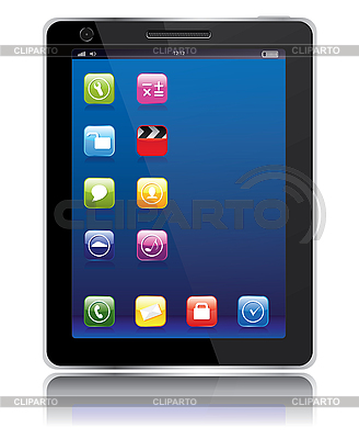 Tablet computer | Stockowa ilustracja wysokiej rozdzielczości |ID 3110644