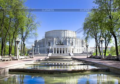 Bolshoi Teatr Opery i Baletu w Mińsku | Foto stockowe wysokiej rozdzielczości |ID 3313374