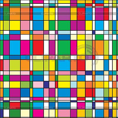 Hintergrund mit bunten quadratischen Fliesen | Stock Vektorgrafik |ID 3013109
